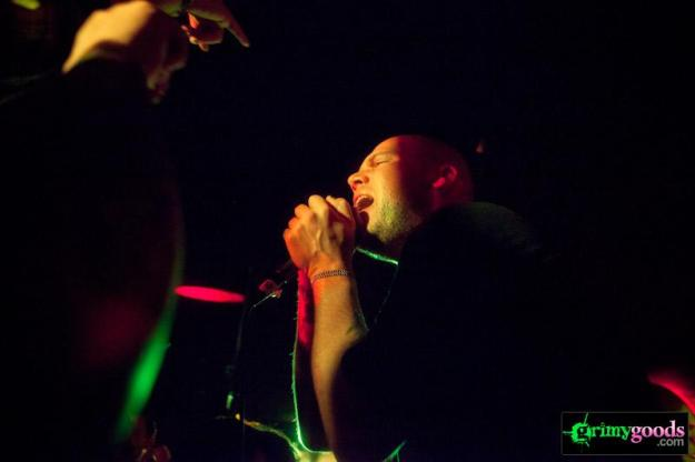 The Bronx with Death Hymn Number 8 at Los Globos - photos- February 2, 2013