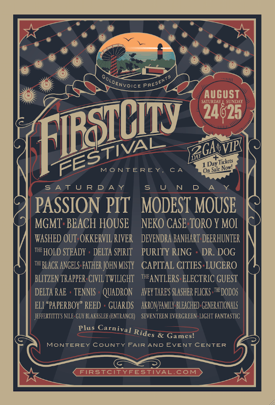 Win Tickets to First City Festival Monterey