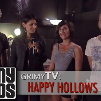 Grimy TV Interview with Happy Hollows