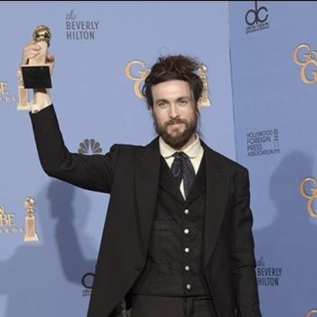 Alex Ebert Golde Globe Edward Sharpe