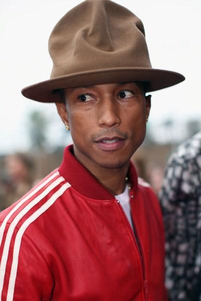 pharrell's hat the grammys photos