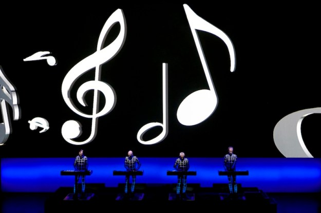 Kraftwerk Walt Disney Concert Hall photos