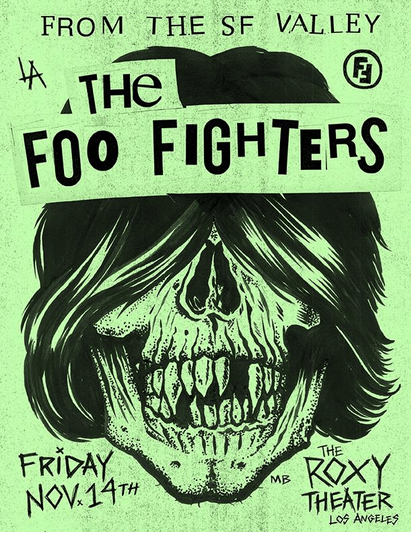 foo-fighters-secret-show-roxy-nov-14