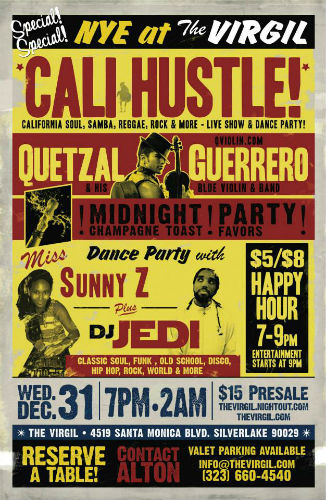 Cali Hustle! Flyer_The Virgil