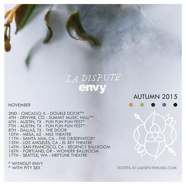 La Dispute Tour Flyer