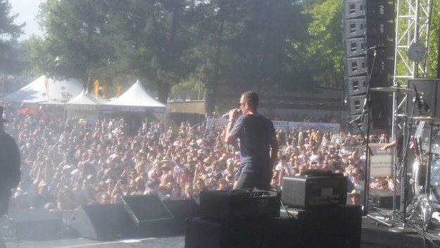 Scott Weiland at BottleRock Napa 2015