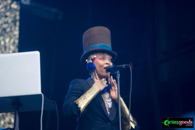Erykah Badu at Rock The Bells Photos4