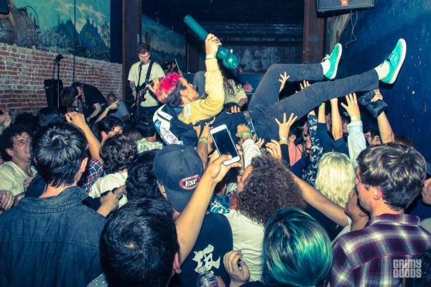 The Frights at The Smell --Photo by Jazz Shademan