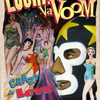 Lucha VaVoom Crazy In Love Flyer