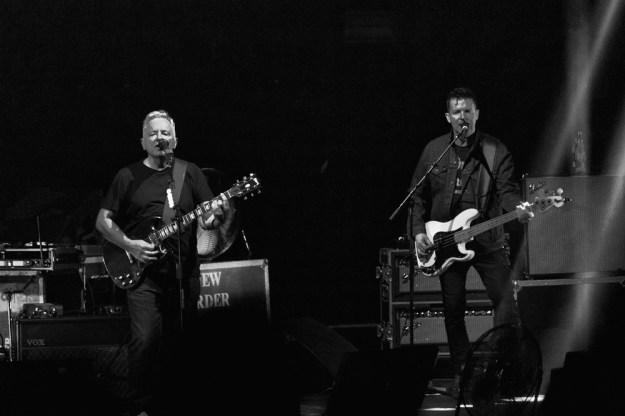 New Order at Shrine Auditorium shot by Manuel Dominguez