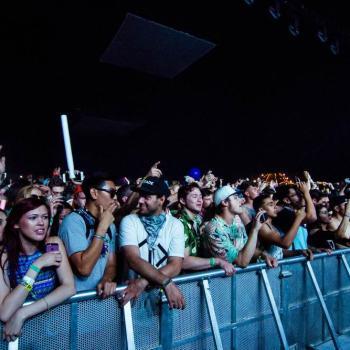 Coachella Crowd photo