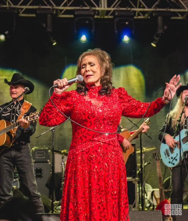 Loretta Lynn at BBC Showcase shot by Maggie Boyd