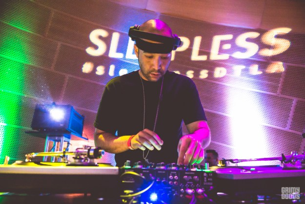 Sleepless at Walt Disney Concert Hall dj inkaone