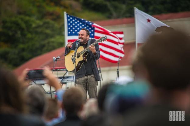 Dave Matthews Bernie Sanders Rally in San Francisco, June 6, 2016