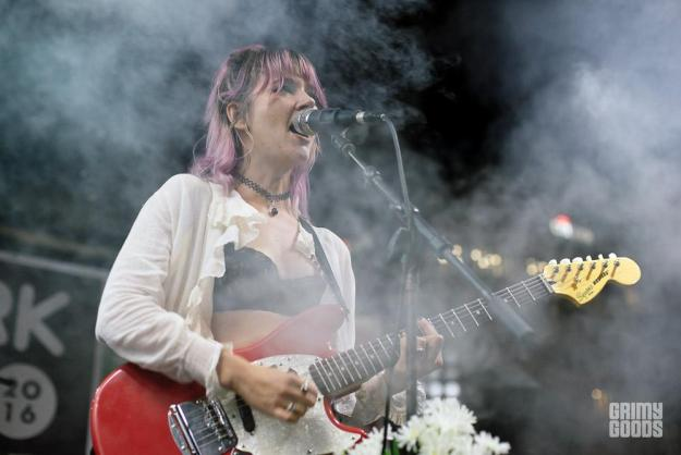Jennifer Clavin of Bleached at Echo Park Rising