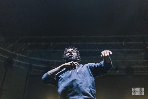 Isaiah Rashad Camp Flog Gnaw 2016 photos