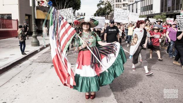 Los Angeles Anti-Trump Elections Protest