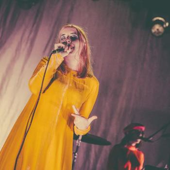Austra at El Rey Theatre -- Photo: Andrew Gomez