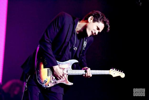 John Mayer at the Forum shot by Danielle Gornbein