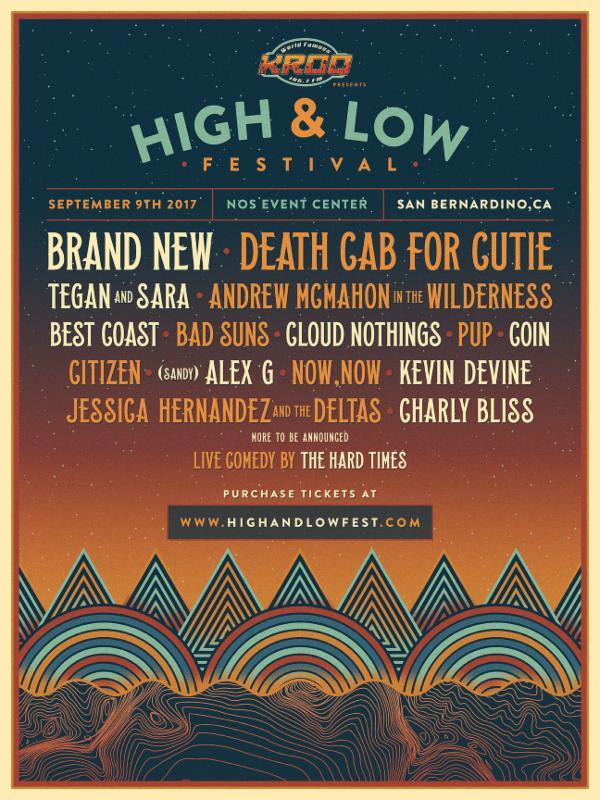 high and low festival