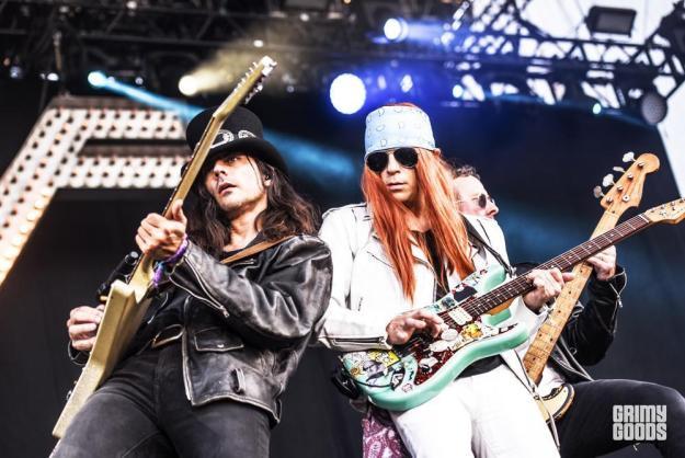 Weezer at Arroyo Seco Festival shot by Danielle Gornbein