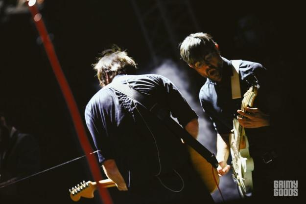 Death Cab For Cutie at High and Low Fest shot by Danielle Gornbein