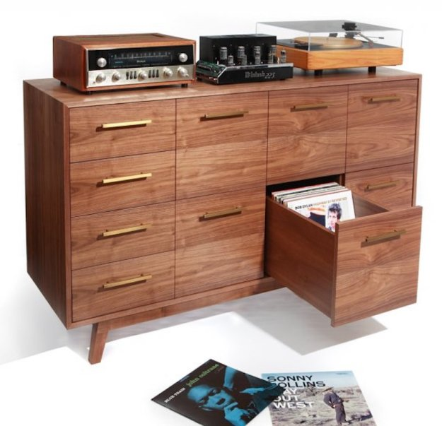 FAther's day gifts Atocha-Design-Record-Cabinet