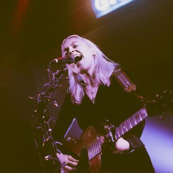 Phoebe Bridgers at the Troubadour shot by Danielle Gornbein
