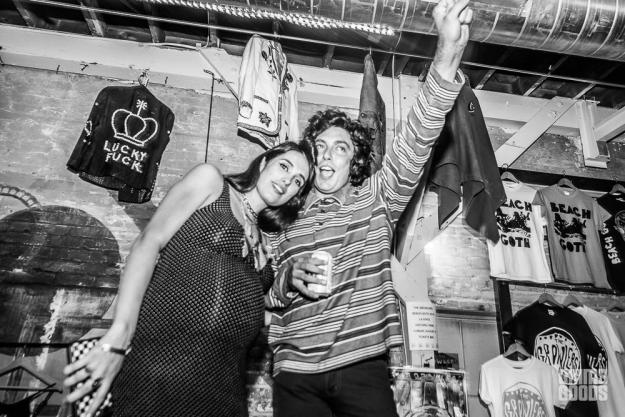 The Growlers beach goth pop up