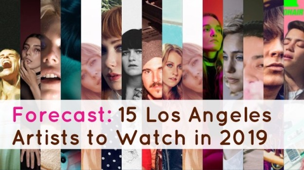 2019 los angeles artists to watch