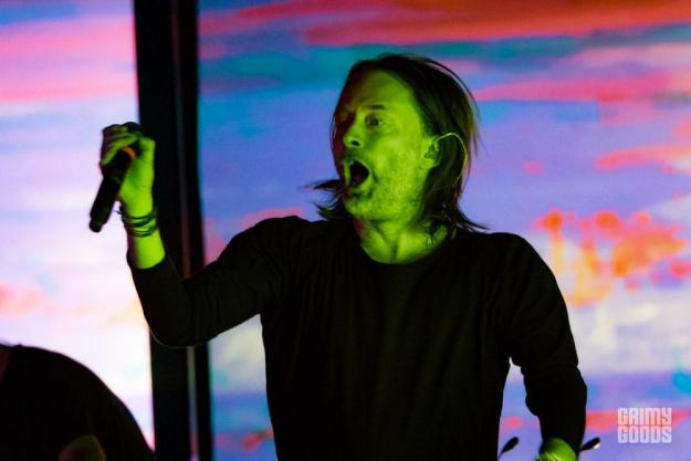 Thom Yorke at the Orpheum Theatre