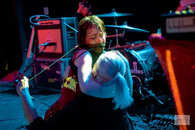 Le Butcherettes with Alice Bag at The Moroccan Lounge