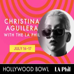 Christina Aguilera with the LA Phil