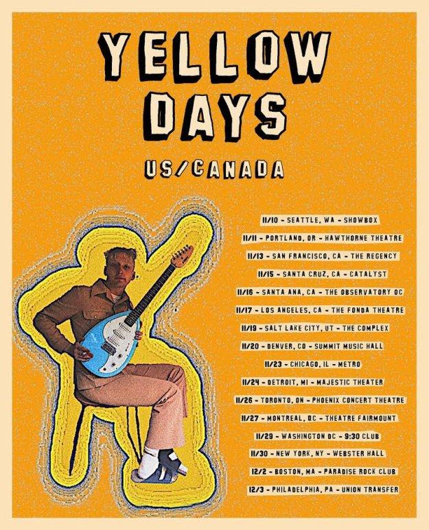 yellow days tour