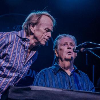 Al Jardine and Brian Wilson at Fonda Theatre - Photo: Farah Sosa