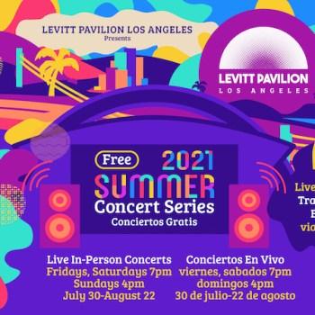 Levitt Pavilion Free Summer Concerts
