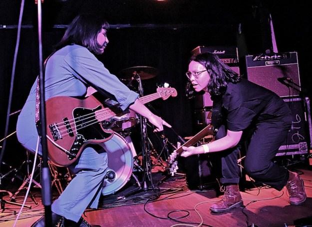 Moonfuzz performing at El Cid in Silverlake