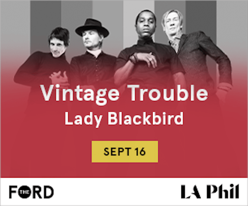 Vintage Trouble at The Ford