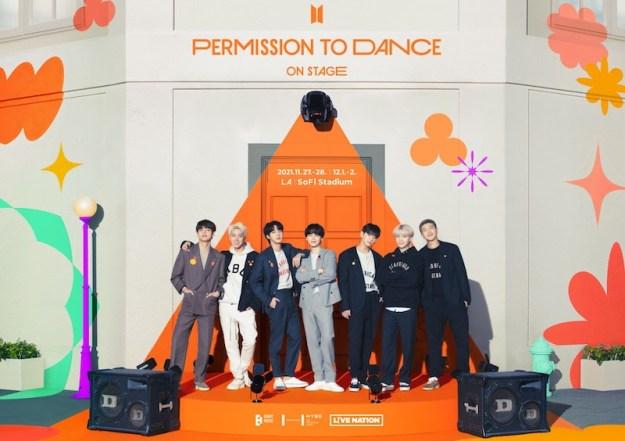 BTS PERMISSION TO DANCE ON STAGE - LA