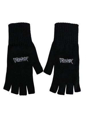 Bullet For My Valentine Logo Fingerless Gloves Buy