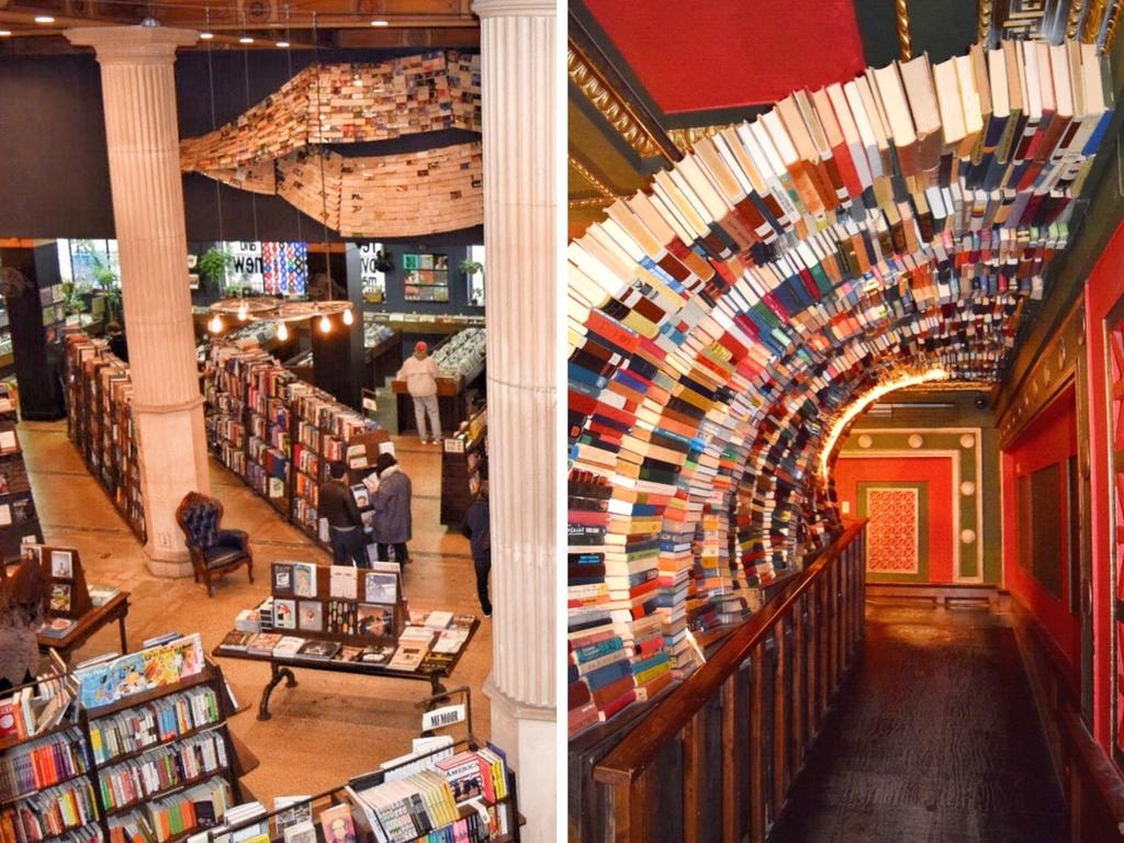 The Last Bookstore in Los Angeles, California