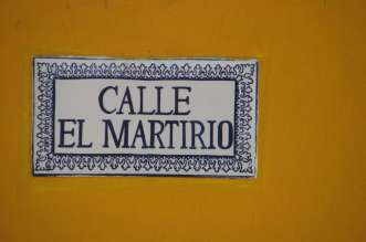 Calle El Martirio Granada, Nicaragua