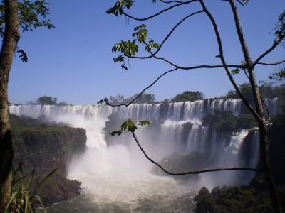 San Martin Falls, Iguazu, Argentina