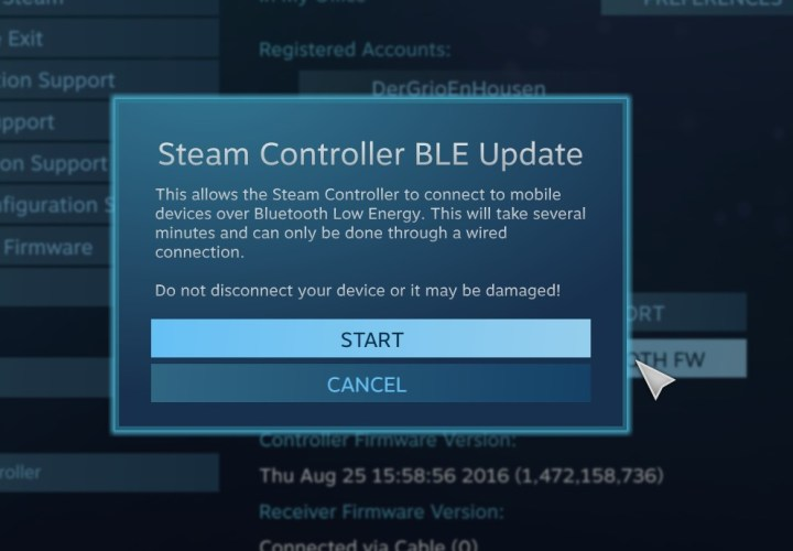 Steam Controller Troubles, Continued