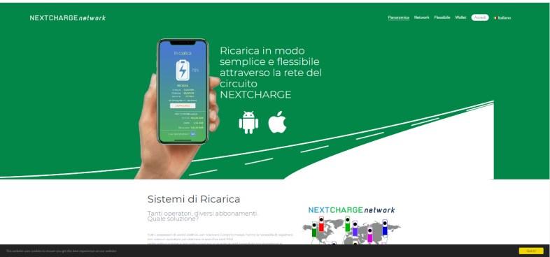 extcharge network app screenshot colonnine elettriche per viaggiare