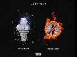 Gucci x Travis Scott Last Time Cover