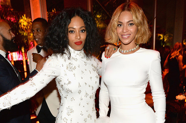 Image result for Beyoncé and Solange