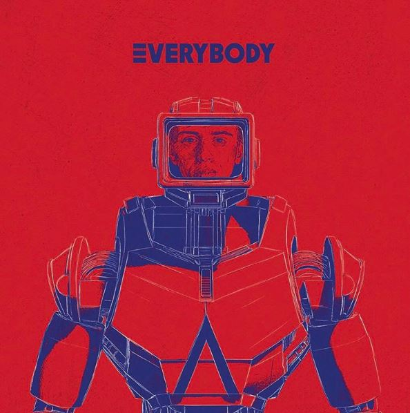 Logic 'Everybody' Artwork via Instagram @logic301