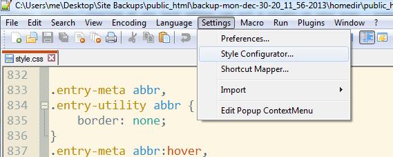 notepad-plus-plus-settings