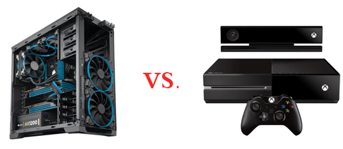 The PC versus the console.
